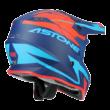 Astone MX800 Narancs/Kék Cross Motoros Bukósisak