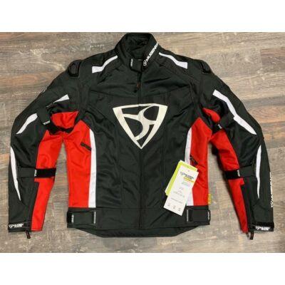 Mugen 2025 Textil Kabát Fekete/Piros
