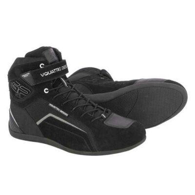 Vquattro Gp4 19 Motoroscipő Fekete