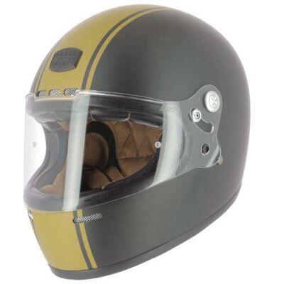 Astone Gt Retro Stripe, Zárt motoros bukósisak Fekete/Gold