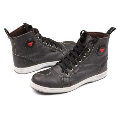 Modeka Lane Motoros Cipő Fekete