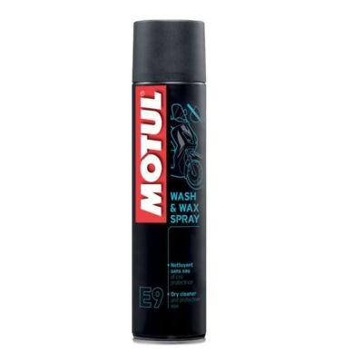 Motul E9 Wash and Wax Spray tisztító és waxoló spray 400 ml