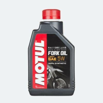 Motul Fork Oil Factory Line Light 5W villaolaj 1 L