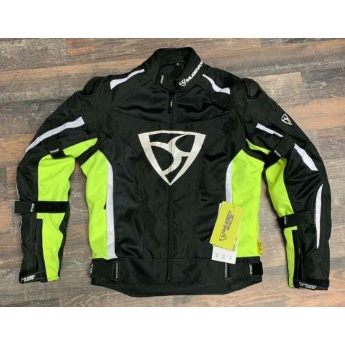 Mugen 2025 Textil Kabát Fekete/Neonsárga (OUTLET)