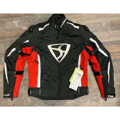 Mugen 2025 Textil Kabát Fekete/Piros (OUTLET)