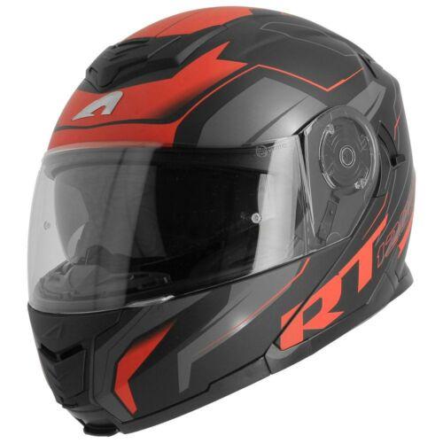 Astone Rt1200 Works, Felnyitható motoros bukósisak, Fekete/Piros