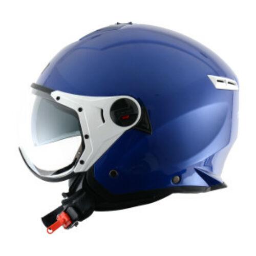 Astone MiniJet Sport Nyitott Motoros Bukósisak Kék (OUTLET)
