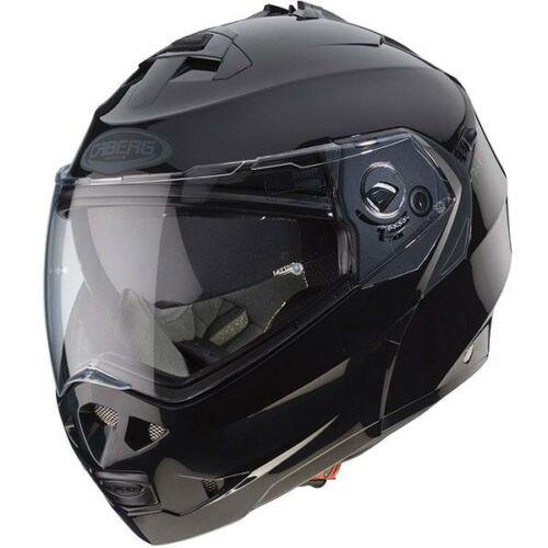 Caberg Duke 2 Smart Fekete Felnyitható Motoros Bukósisak (OUTLET)