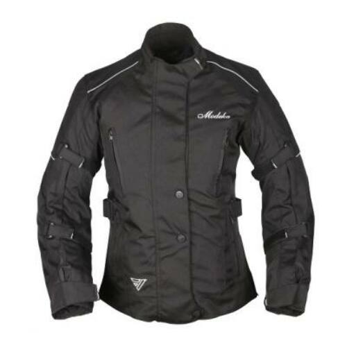 Modeka Janika Lady Háromrétegű Női Motoros Kabát Fekete (OUTLET)