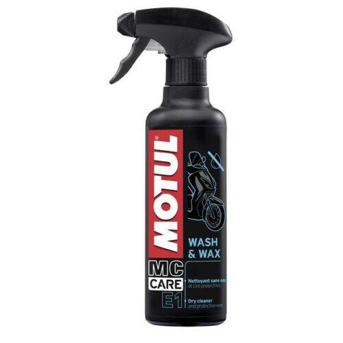 MOTUL E1 WASH & WAX E1 400ML