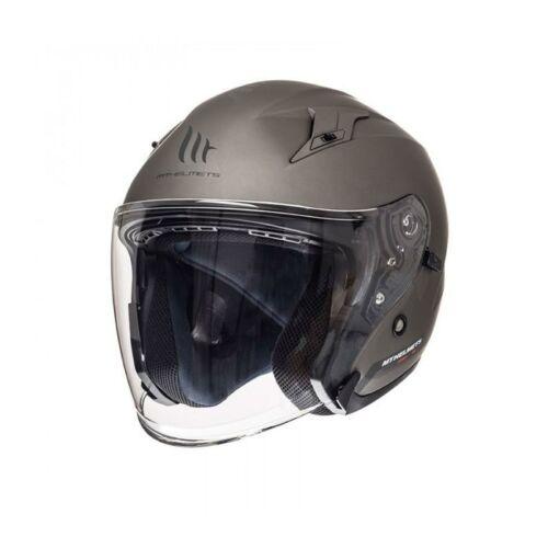 MT Helmets Avenue SV Solid Matt Titán Nyitott Motoros Bukósisak