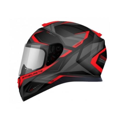 MT Helmets Thunder 3 SV Piros Zárt Motoros Bukósisak