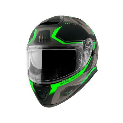 MT Helmets Thunder 3 SV Turbine C6 Matt Fekete/Zöld