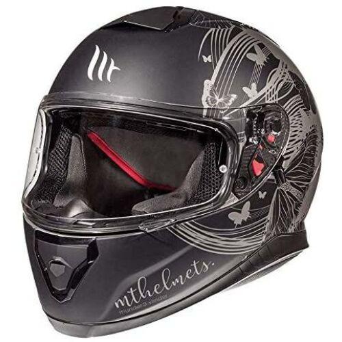 MT Helmets Thunder 3 SV Vlinder Matt Szürke Zárt Motoros bukósisak