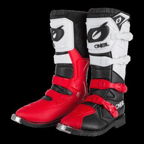 O'NEAL Rider Pro Fekete/Fehér/Piros Cross Csizma