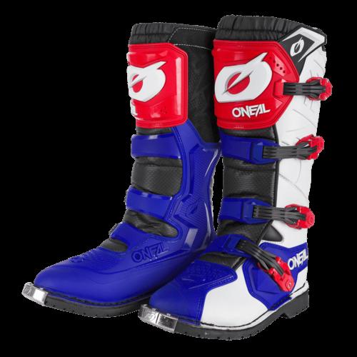 O'NEAL Rider Pro Kék/Piros Cross Csizma